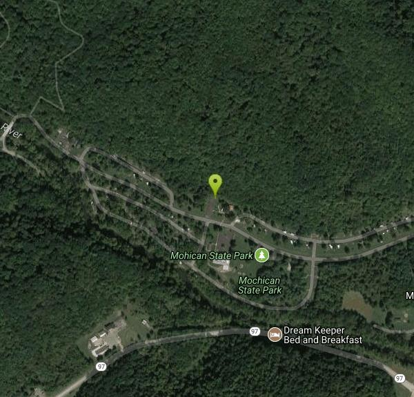 Perrysville Ohio Map.Mohican State Park Camp Hike Horseback And Mountain Bike Near