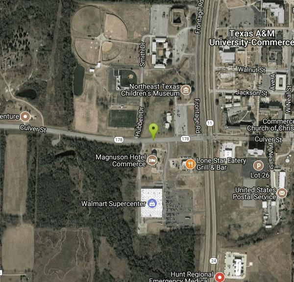 Am Commerce Campus Map.Outdoor Adventure Center Disc Golf Near Commerce Texas Free Arenas