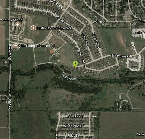 Map Of Justin Texas.Justin Disc Golf Course Disc Golf Near Justin Texas Free Arenas