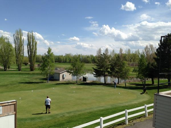 View of the Teton Lake Golf Course added by cteicheira