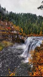 Autumn At Upper Mesa Falls courtesy of Aaron Couch↗