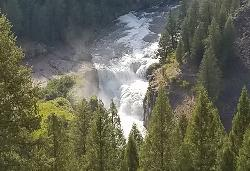 Lower Falls Zoomed