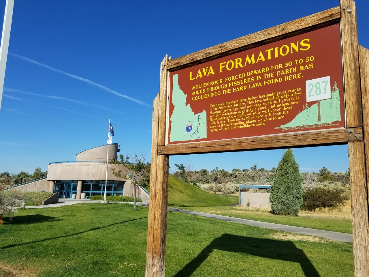 Lava Formations Rest Area