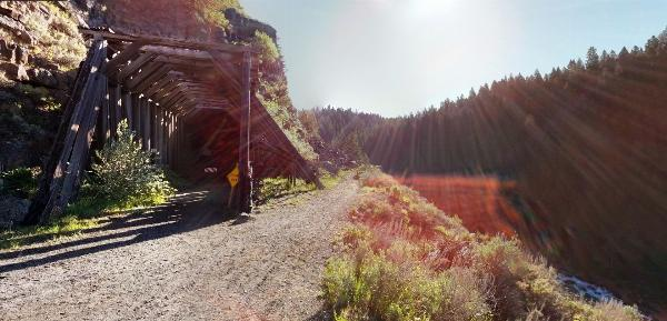 Closed Railroad Tunnel by Taylor Wall