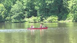 Umstead Canoeing on Big Lake