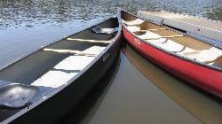 Canoe Rental Docs on Big Lake