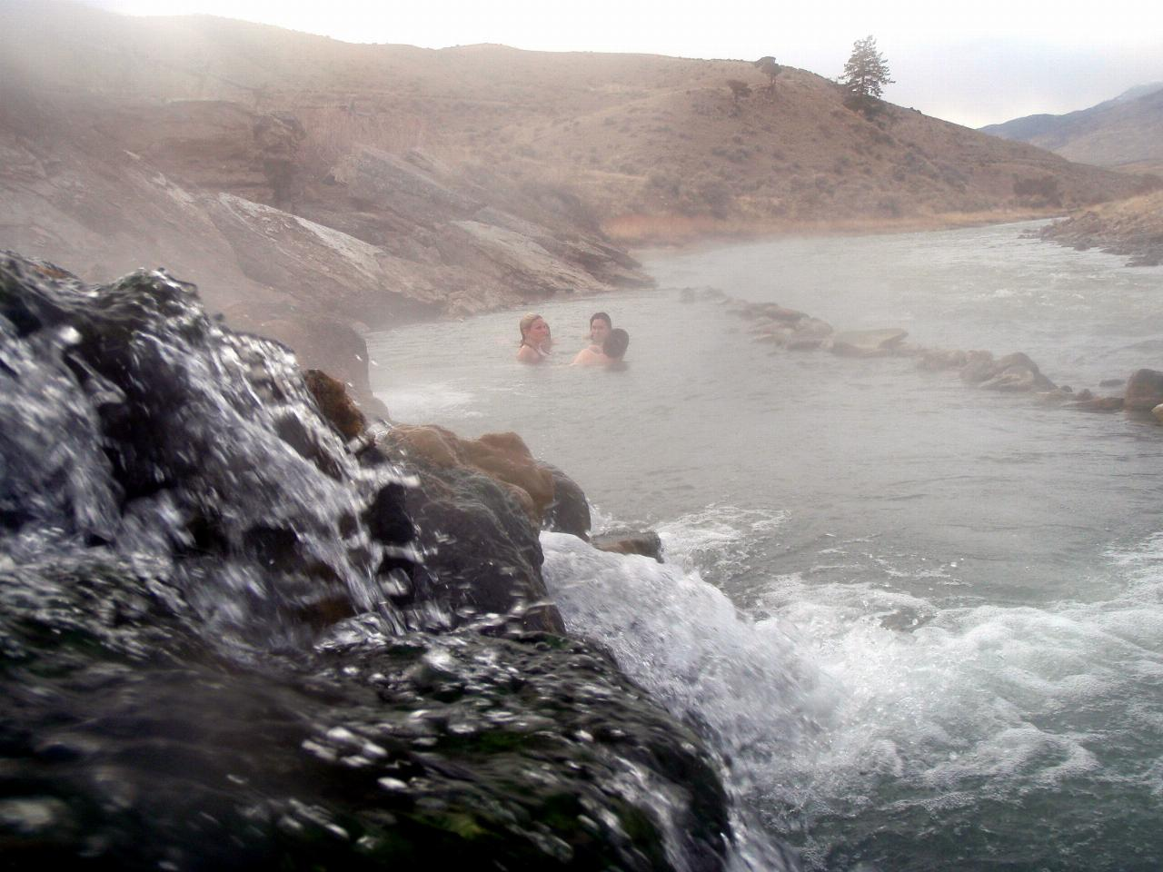 The Boiling River courtesy of livingthebigsky.com↗