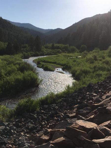 Beautiful start to the hike. If only we didn't have to cross that stream so often... courtesy of Victor Walker↗