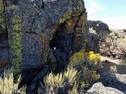 One of several caves