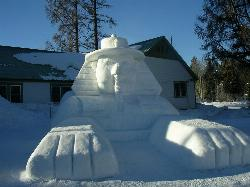 Ice Sculpture at McCall Winter Carnival courtesy of U.S. Department of Agriculture ↗