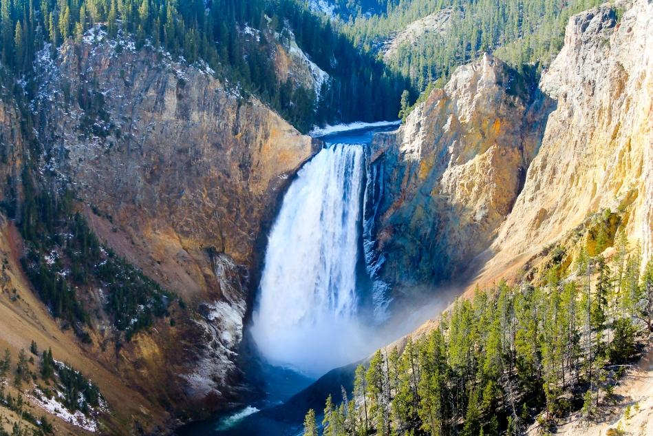 Yellowstone Lower Falls  added by cteicheira