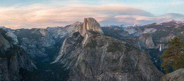 View of Half Dome, Vernal Falls, and Nevada Falls added by cteicheira