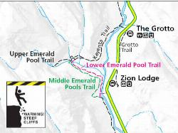 Map Emerald Pool Trail1