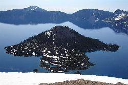 Crater Lake And Wizard Island Panoramio added by katelocke