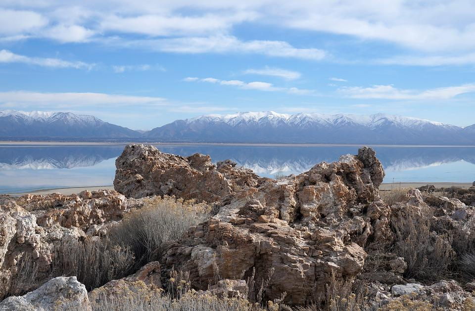 Antelope Island, Utah courtesy of Max Pixel↗