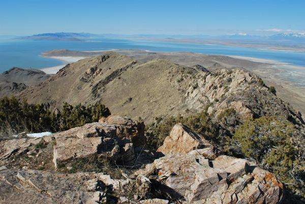 Frary Peak Antelope Island courtesy of Trails Trekker↗