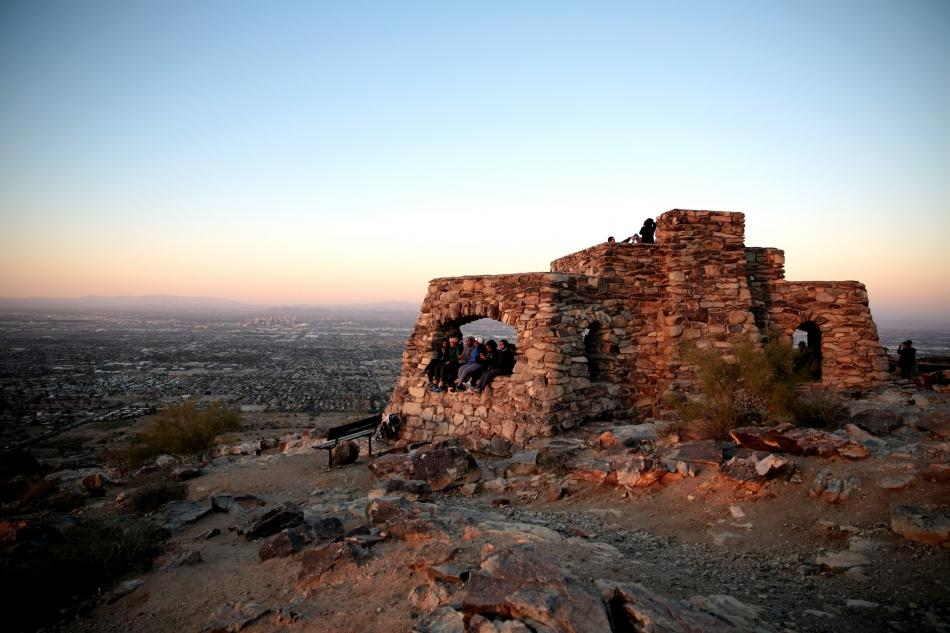 Dobbins Lookout at South Mountain Park in Phoenix, Arizona. courtesy of Gage Skidmore↗