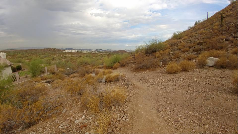 Scarlett Canyon trail leaving subdivision courtesy of Remy E Autz↗
