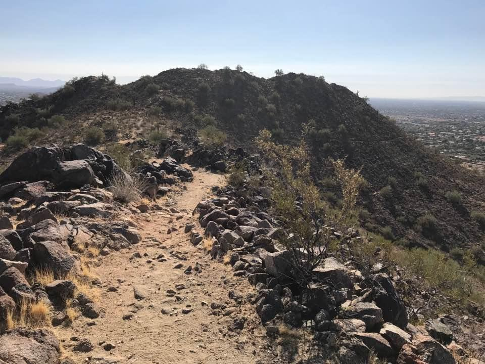 Sunrise Mountain Trail - Hike and Mountain Bike near Peoria, Arizona on