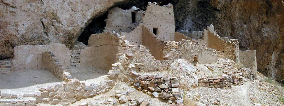 Upper Cliff Dwelling courtesy of NPS↗
