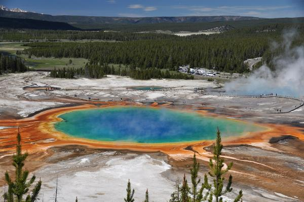 Grand Prismatic Spring (5 June 2013) 14 courtesy of James St. John↗