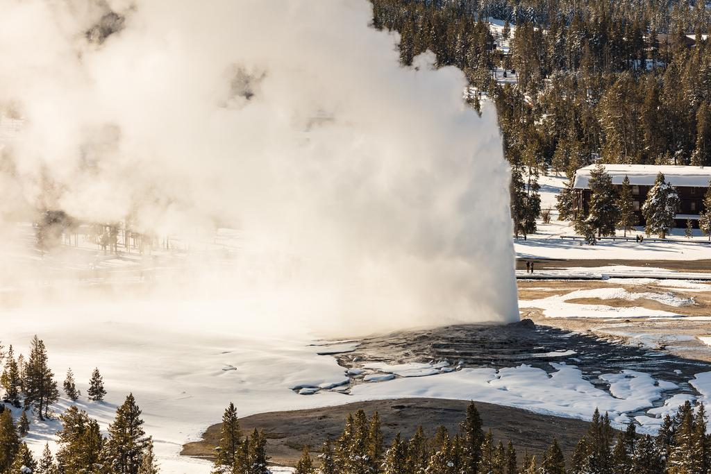 Old Faithful From Observation Point courtesy of Jacob W. Frank↗